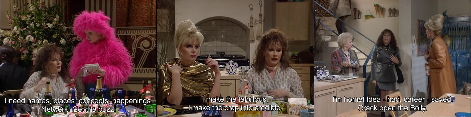 Absolutely Fabulous, Season 3, aflevering Jealous, 2 oktober 1995, BBC