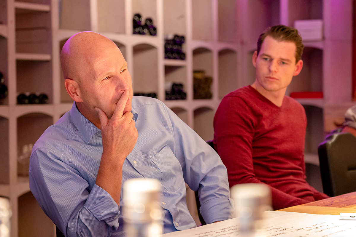 Experts Lennart Drewes (Koninklijke Jongeneel) and Tim Treurniet (Royal Brinkman)